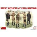 Soviet Officers at Field Briefing