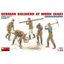German Soldiers at Work (Rad)
