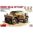 Dingo  Mk.1B British Armored Car w/CREW