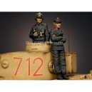 Panzer Commander Set 2 figuras