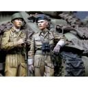 British RAC AFV Crew Set 2 figures