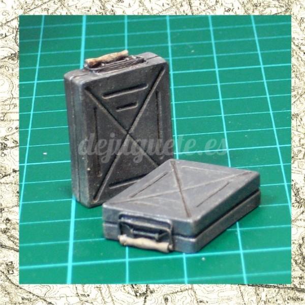 Steel Mortar Boxes : Mortar ammunition boxes grw cm de juguete modelismo